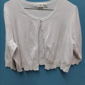 Ladies size 18/20 Button Up Sweater
